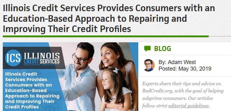 BadCredit.org article on credit repair companies